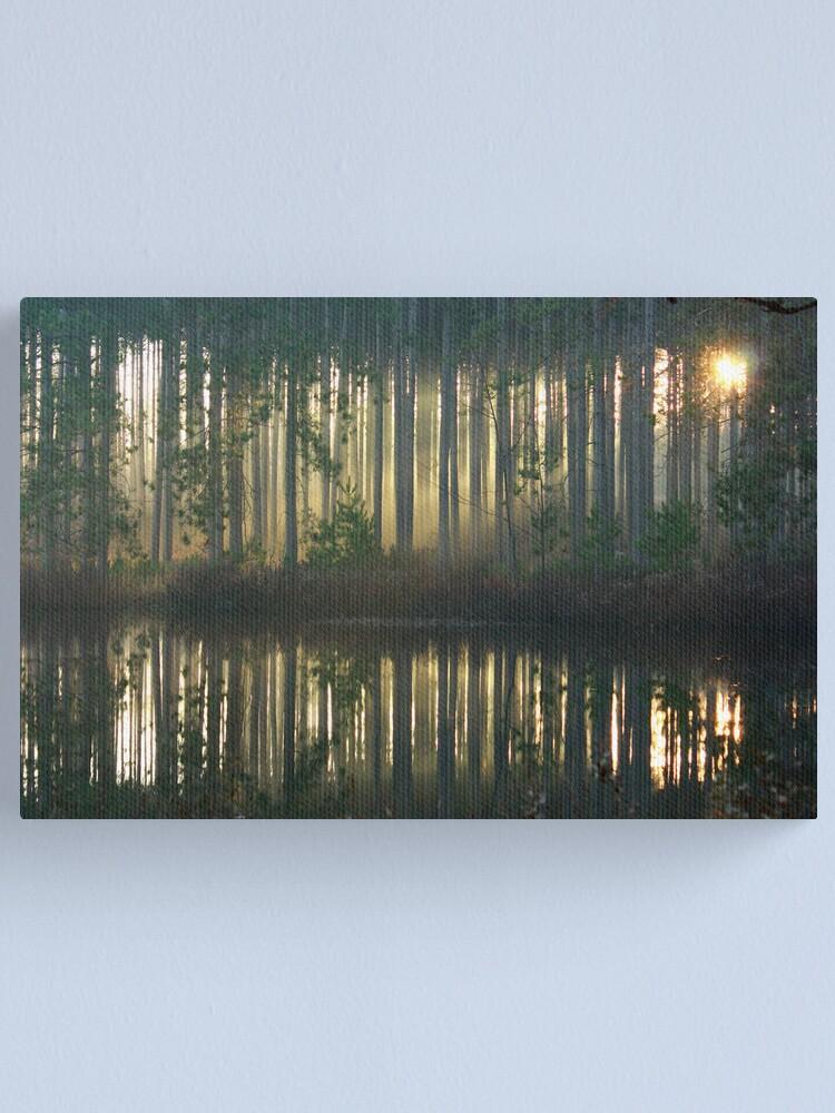 Alternate view of Echo~Totogatic Park, Minong, Wisconsin Canvas Print