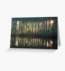 Echo~Totogatic Park, Minong, Wisconsin Greeting Card