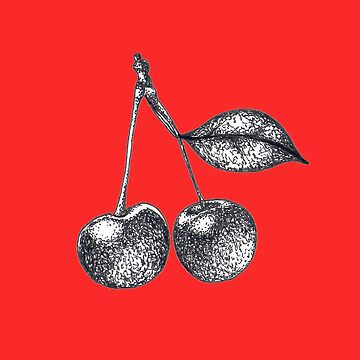 Vintage Cherries Graphic by Surrealist1