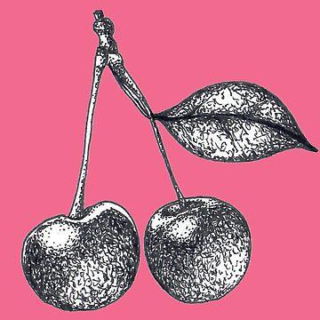 Cherry print by Surrealist1