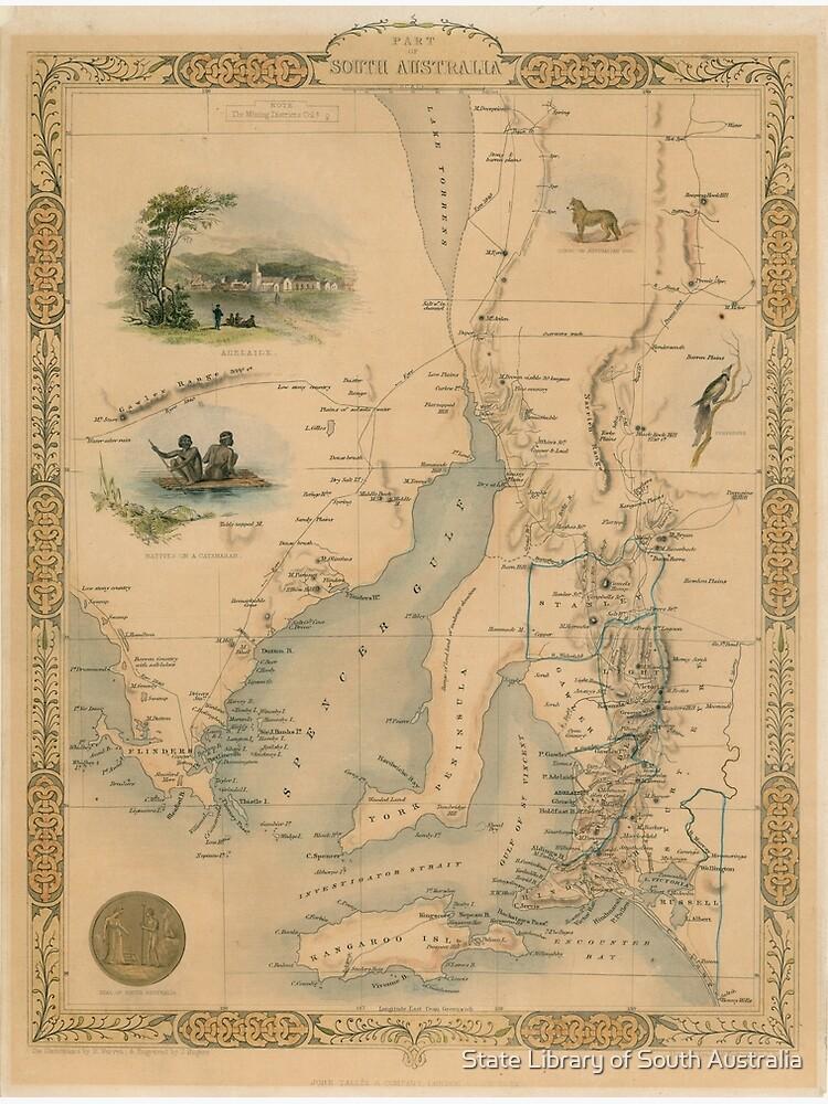 Part of South Australia, 1851 by StateLibrarySA
