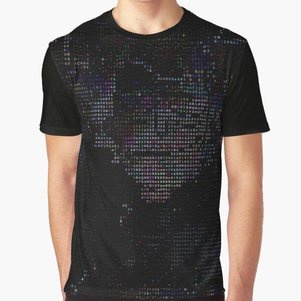Beobachten Sie genau, wie Opa ein Imperium stürzt, indem es eine 1 in eine 0 verwandelt. Rick Grafik T-Shirt