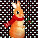 mein Lieblingstuch (2010) Rabbit / Bunny Art von IkuyoFujita