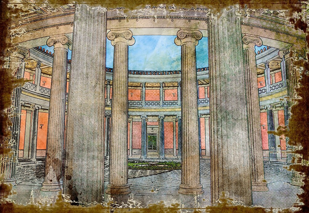 Zappeion (II) by Sergios Georgakopoulos