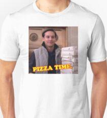 pizza time. Unisex T-Shirt