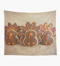 Happy Thanksgiving Wall Tapestry