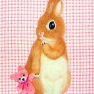 mit meinem kleinen Freund (2013) Rabbit / Bunny Art von IkuyoFujita