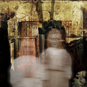 Ghostly Sisters At Kips Castle  by amberwayne52