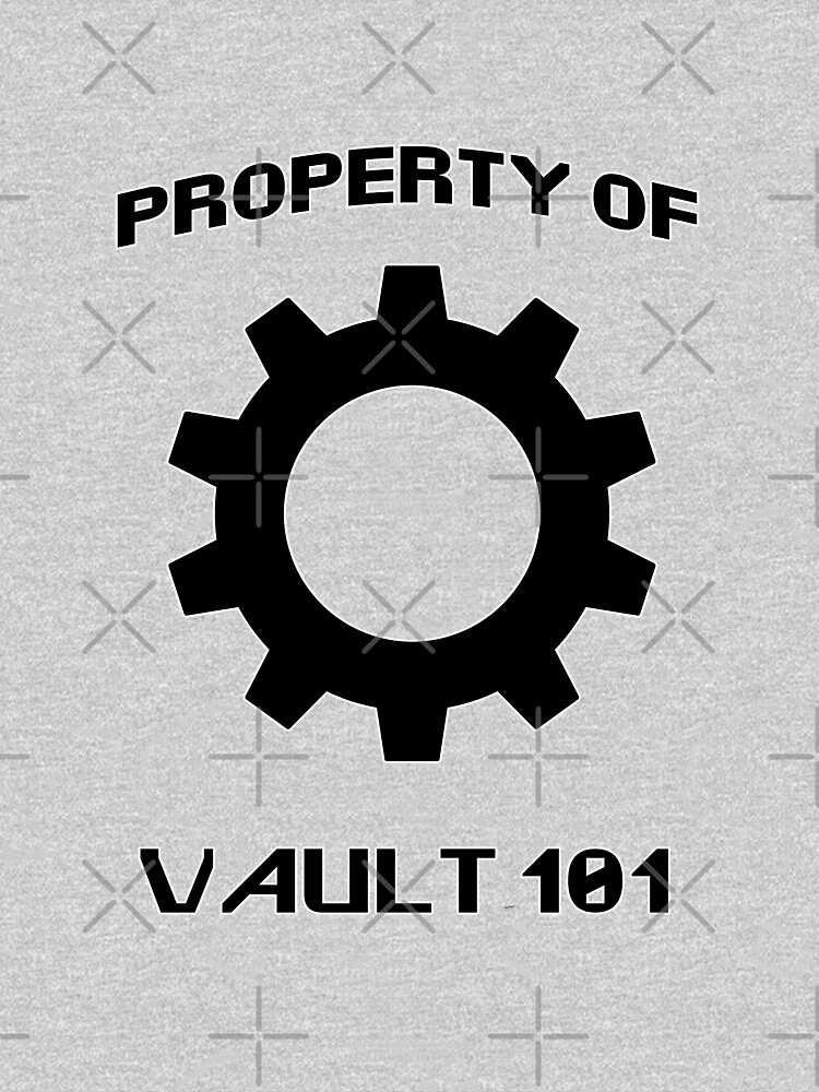 Property of Vault 101 by raineofiris