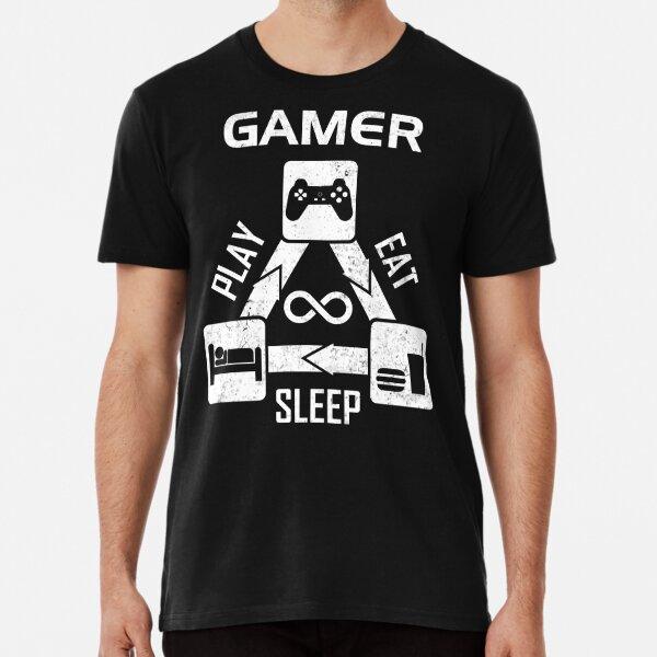 Gamer - Eating Sleeping Play Premium T-Shirt