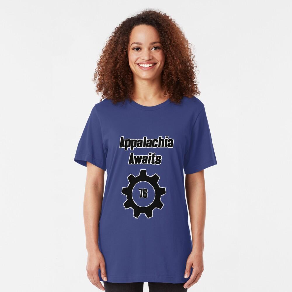 Appalachia Awaits - Vault 76 Slim Fit T-Shirt