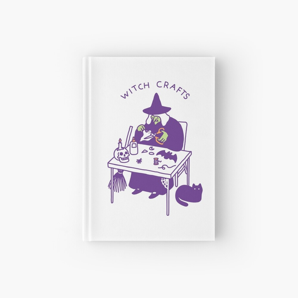 Witch Crafts Hardcover Journal