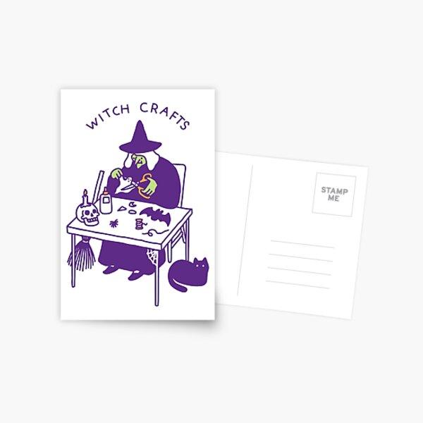 Witch Crafts Postcard