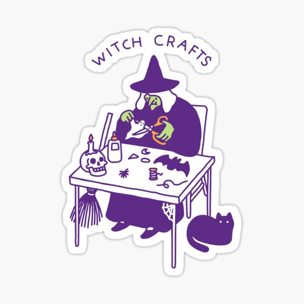 Witch Crafts Sticker