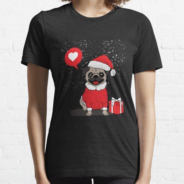 Christmas pug gift Essential T-Shirt