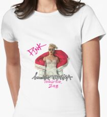 Pink Beauty Women's Fitted T-Shirt