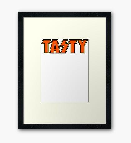TASTY™ Rock'n All Nite Framed Print