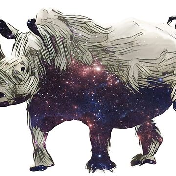 Space rhino by tacostudio