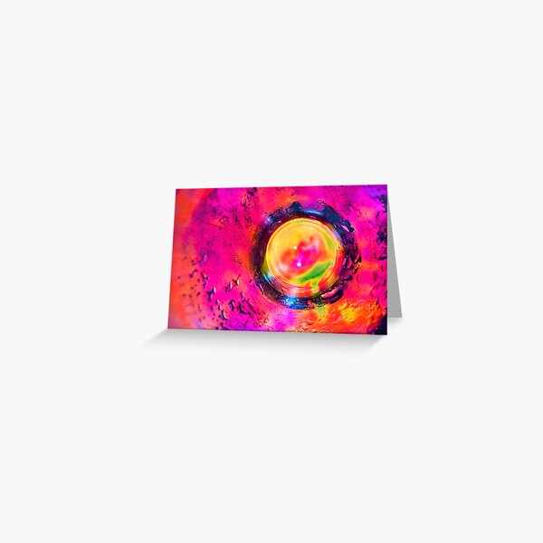 Coloful Abstract Greeting Card