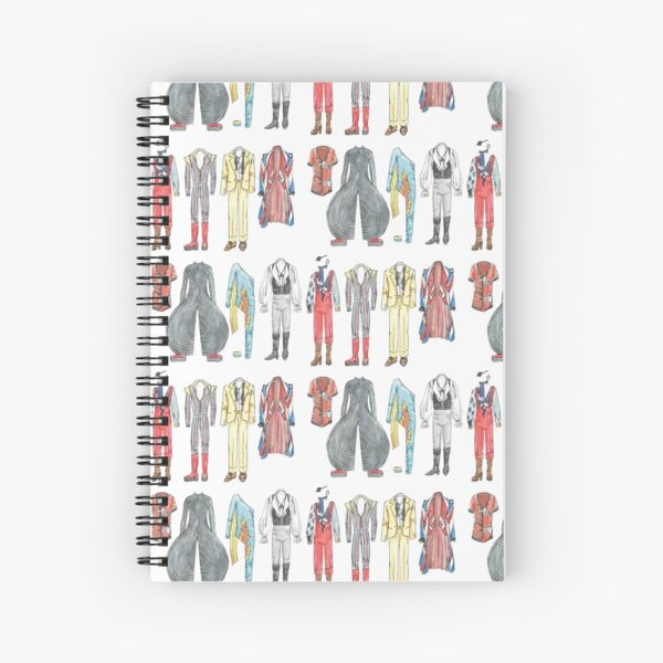 BOWIE COSTUMES Spiral Notebook