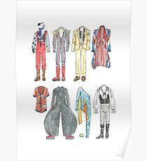 BOWIE COSTUMES Poster