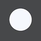 minimalist moon by kissmyartichoke