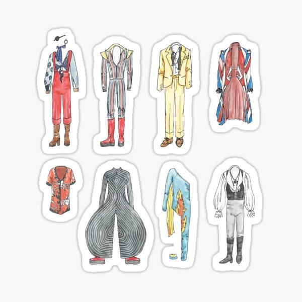 BOWIE COSTUMES Sticker