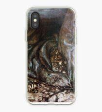 Siegfried - Fafner guards the gold (Rackham) iPhone Case