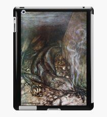 Siegfried - Fafner guards the gold (Rackham) iPad Case/Skin