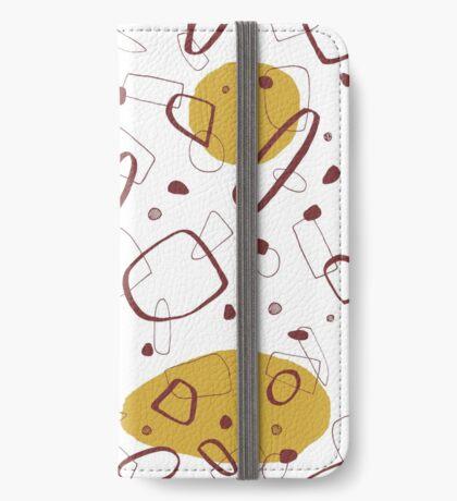 Doodle Pattern 02 #redbubble #doodle #pattern iPhone Wallet