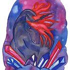 Crystal Unicorn by Niina Niskanen