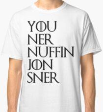 jon sner ners nuffin Classic T-Shirt