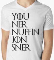 jon sner ners nuffin Men's V-Neck T-Shirt