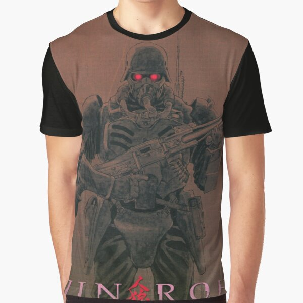 Jin-Roh The Wolf Brigade Poster Graphic T-Shirt
