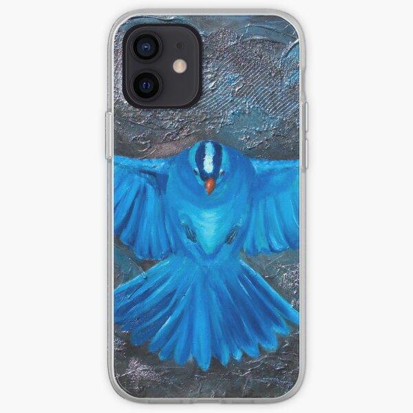 Blue Bird Joy iPhone Soft Case