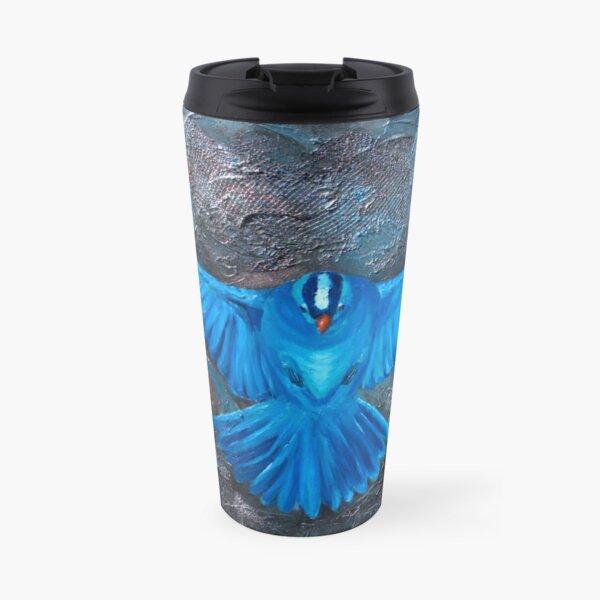 Blue Bird Joy Travel Mug