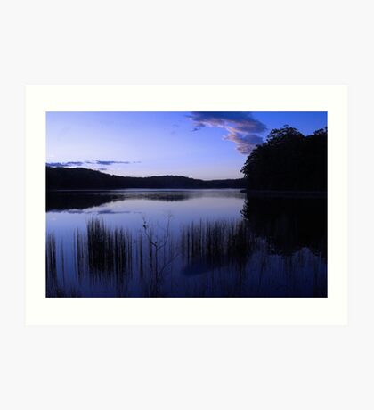 Mapleton Dam Sunshine Coast Australia Art Print