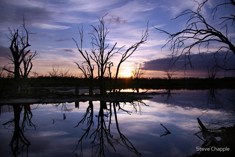 Moody Mornings 1 by Steve Chapple