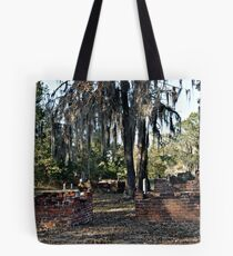 Old Cemetery Tote Bag