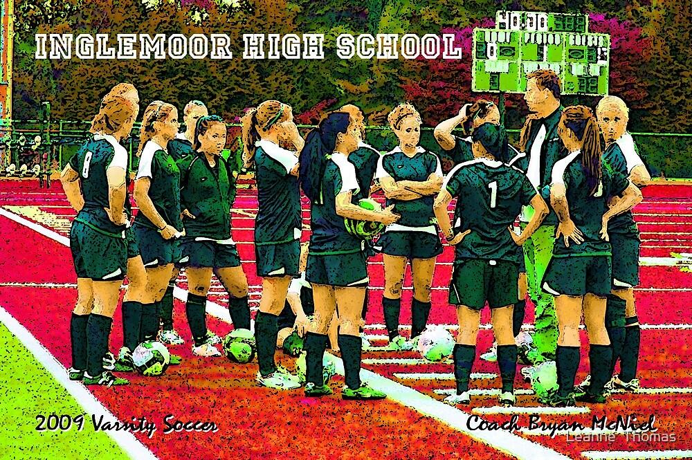 2009 Inglemoor Vikings Girls' Varsity Soccer - Night Game by Leanne  Thomas