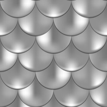 Big Holographic Fishscale Pattern by stylebytara