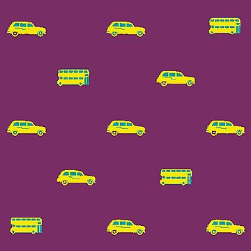 Yellow Vehicles by procrest