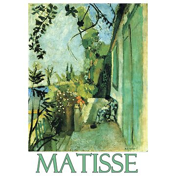 The Terrace, St. Tropez (1904) by Henri Matisse by Chunga