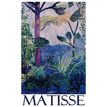 Moroccan Landscape (1913) by Henri Matisse by Chunga