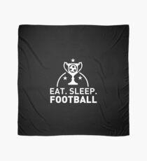 Eat. Sleep. Football. T-shirt Scarf