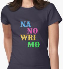 Nanowrimo Women's Fitted T-Shirt