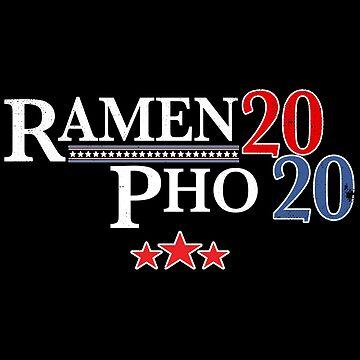 Funny Ramen Pho Hoodie Election 2020 Noodles Vote Noods by rainydaysstudio