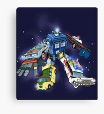 """Defender of The Nerd-verse""  Canvas Print"