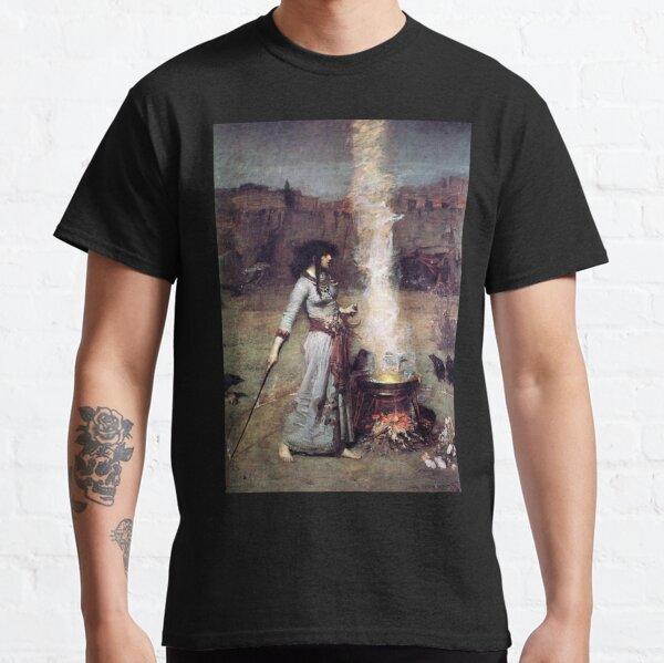 The Magic Circle. Witchcraft. John William Waterhouse. Classic T-Shirt