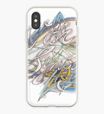 With Sympathy iPhone Case